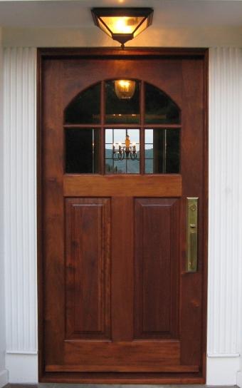 Elegant Borano Solid Mahogany Exterior Entry Front Doors Entrance Doors House